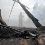 На Рівненщині чоловік, який загинув під час пожежі, імовірно підпалив себе