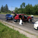 У Рівному зіткнулися два автомобіля: двоє потерпілих у лікарні