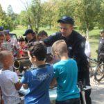 Поліцейські області та патрульні Рівного несли службу в дитячій лікарні