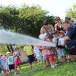 Малюки з дитсадка пізнавали професію рятувальника