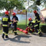 Рівненські вогнеборці-добровольці практично відпрацювали гасіння пожежі та порятунку людей в палаючому приміщенні