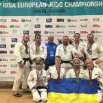 Рівненські дзюдоїсти вибороли на чемпіонаті Європи 8 нагород