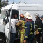 Рятувальники деблокували потерпілого водія з понівеченого автомобіля
