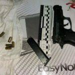 За добу поліцейські на Рівненщині вилучили два пістолети, шість снарядів та понад 200 патронів