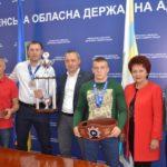 На Рівненщині відзначили видатних спортсменів