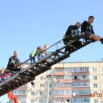 На День міста Вараш рятувальники організували для людей неймовірне шоу