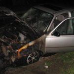 У Рівному жінці підпалили автомобіль