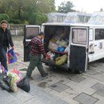 Рівненські школярі  зібрали 600 кілограмів круп для собак у притулку