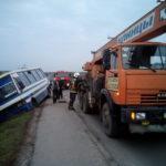 У Сарнах автобус з 29 пасажирами потрапив у ДТП
