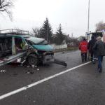 Рятувальники деблокували травмованого водія з понівеченого внаслідок ДТП автомобіля