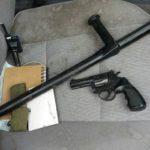 На Рівненщині поліцейські затримали автомобіль зі зброєю