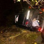 На Рівненщині авто злетіло у кювет: жінка та дитина загинули, ще троє осіб постраждали