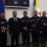 Рятувальника з Рівненщини за врятоване життя нагородили медаллю