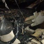 Від повного знищення легковий автомобіль врятували вогнеборці