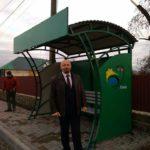 На Рівненщині облаштували зупинку громадського транспорту, з брендом громади