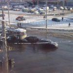 Дві автівки та тролейбус потрапили у Рівному в ДТП (фотофакт)