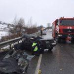 На Рівненщині зіткнулися автобус і ВАЗівка: загинув чоловік