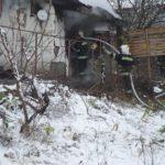 У Рівненському районі згорів житловий будинок