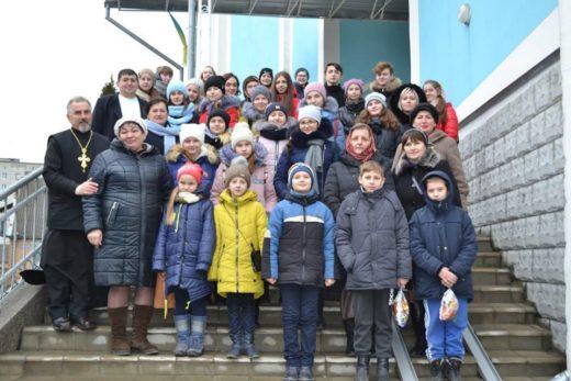 Різдвяні канікули діти з Волновахи провели на Рівненщині