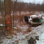 На Рівненщині у ДТП постраждали четверо осіб