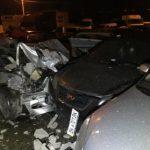 Унаслідок ДТП у Рівному постраждало троє осіб і пошкоджено 26 автомобілів