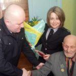 Правоохоронці вітали ветерана органів внутрішніх справ
