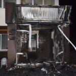 Поліцейські встановлюють осіб, які підпалили офіс у Рівному