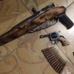 У Рівному поліцейські вилучили арсенал зброї та боєприпасів