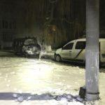 У Рівненському районі невідомі підпалили іномарку