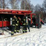 У Рівному рятувальники провели тактико-спеціальні навчання на території онкодиспансеру