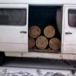 На Рівненщині лісівники зловили лісокрада