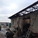 Рятувальники ліквідували пожежу в господарській будівлі