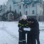 В Гощі рятувальники працювали у Свято-Покровському жіночому монастирі