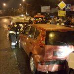 Водій, який вчинив ДТП за участі 4 автомобілів, виявився нетверезим