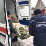 """Важкохвору жінку з """"квартирної"""" пастки звільняли рятувальники"""