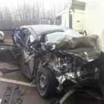 Внаслідок ДТП в деформованому автомобілі затиснуло водія