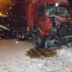 Складна ніч на Рівненщині: ДТП, кювети, снігові пастки…