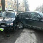 У Рівному у ДТП потрапили дві BMW (фотофакт)