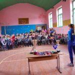 В Гощанському районі діти зустрілися з учасницею Олімпійських ігор