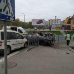 У Рівному ДТП: зіткнулися три автівки