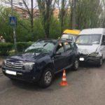 На Соборній у ДТП потрапили три автівки