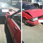 У Рівному поблизу ринку три автівки потрапили в ДТП