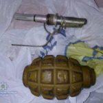 На Рівненщині поліцейські вилучили патрони та гранату