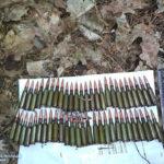 Минулої доби поліцейські вилучили дві гранати, 70 патронів, вибухівку та артпостріл