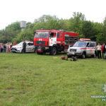Урок безпеки життєдіяльності учням Котівської школи провели поліцейські та рятувальники