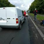 На Соборній автомобіль збив чоловіка (ФОТО)