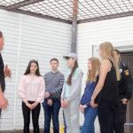 Небо в клітинку: школярі побували в ізоляторі тимчасового тримання Рівного