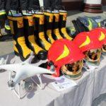 Здолбунівським рятувальникам передали сучасне обладнання та бойовий одяг