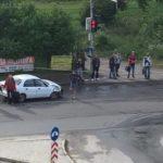 У Рівному на Чорновола сталася ДТП (ФОТОФАКТ)
