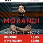 Вперше у Рівному виступить гурт «Morandi»